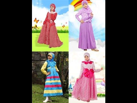Contoh Desain Baju Muslim Anak Kecil Cantik Terbaru - YouTube