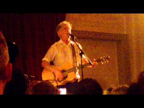 Tim Finn Live and Acoustic London 12 July 2015 (Six Months...)