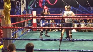 Incontro light Muay Thai Mirko Marchetti e William Lorusso - 8 dicembre 2013