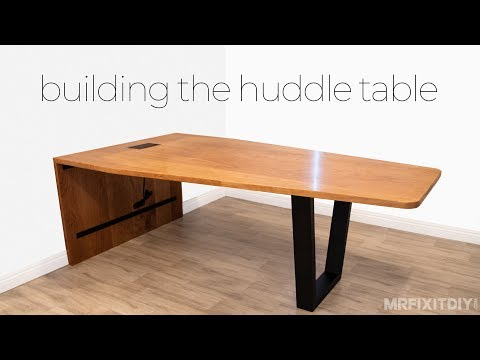 Small Conference Table Build | Woodworking Project