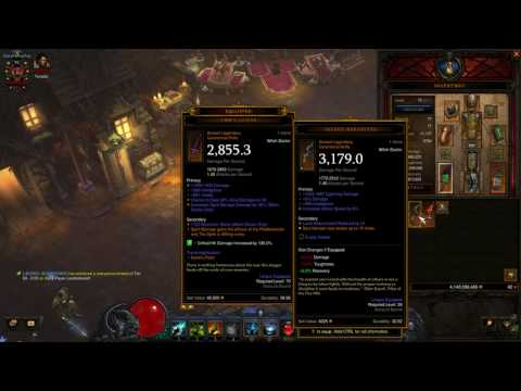 Diablo 3 - WD LoN Spirit Barrage - Best Witch Doctor Build - Greater Rift 100+  Legacy of Nightmares