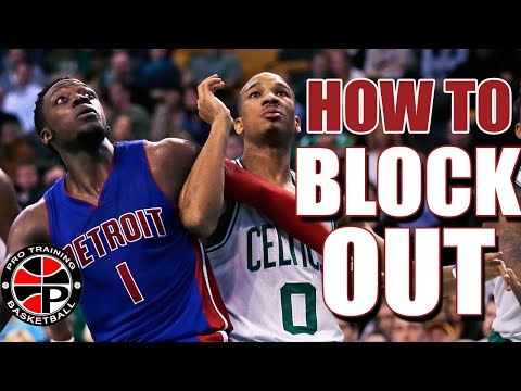 Grab More Rebounds | How To Correctly Block Out | Pro Training Basketball