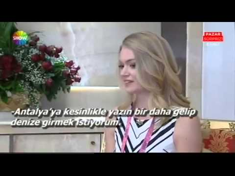 Dosso Dossi Fashion Show - SHOW TV / Pazar Sürprizi / Lindsay Ellingson Röportajı - January 2015