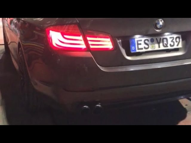 BMW F10 5.23 6 SİLİNDİR 3.0 PERFORMANS KUMANDALI EGZOZ SESİ