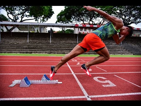 Sprinter Timothee Yap gunning to be Singapore's fastest man