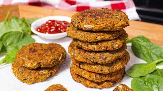 Baked Vegetable Patties Recipe  Vegan & Grain-free    Vegan Patties   How To Make Vegetable Patty