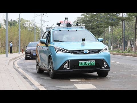 China's first self-driving taxis hit the road in Guangzhou