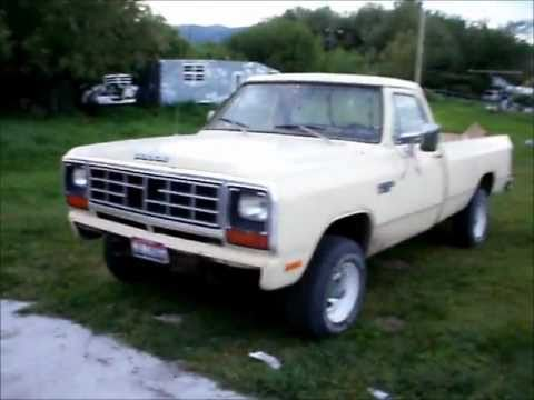 update on the 1982 dodge power ram youtube. Black Bedroom Furniture Sets. Home Design Ideas