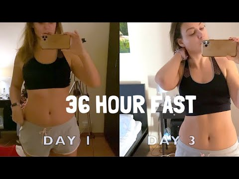 FASTING 36 HOURS (NO FOOD, WATER ONLY) FOR BEGINNERS