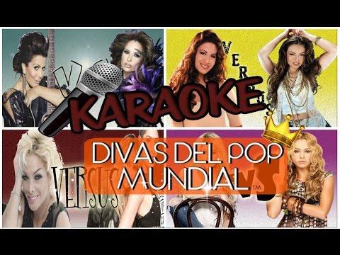 KARAOKE DIVAS DEL POP MUNDIAL // VS // CIANI Y ZANI // EL DIARIO DE AINI
