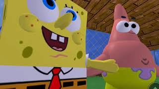 Spongebob et Patrick ROBLOX gamingwithkev FGTEEV
