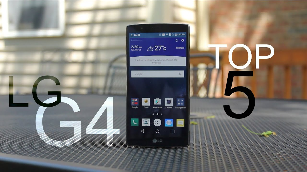 Top 5 LG G4 Software Features!
