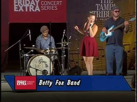 Betty Fox Band at Friday Extra 2015