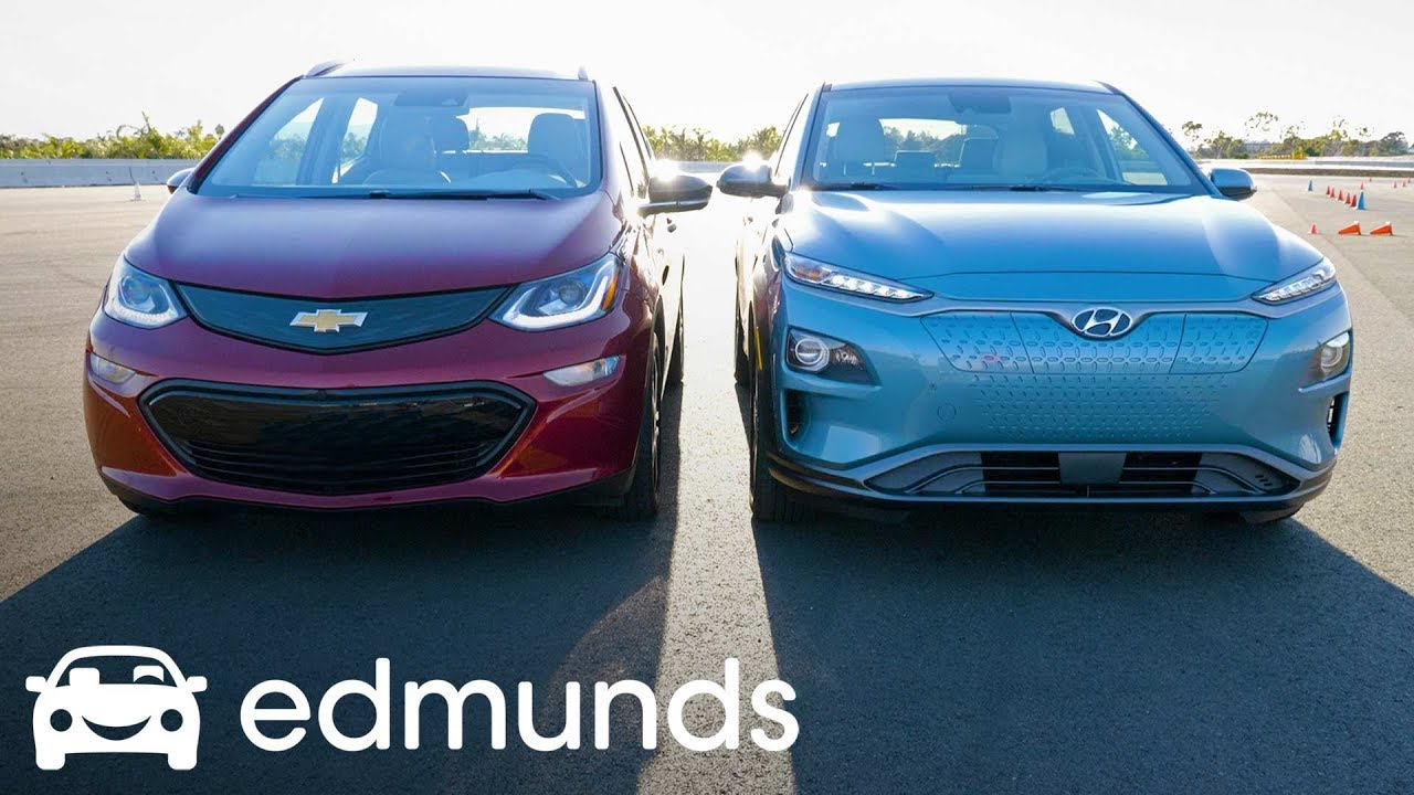 Hyundai Kona Electric Vs Chevrolet Bolt Ev Which Is The Best Affordable Long Range Edmunds