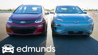 Hyundai Kona Electric vs. Chevrolet Bolt EV: Which Is the Best Affordable Long-Range EV? | Edmunds
