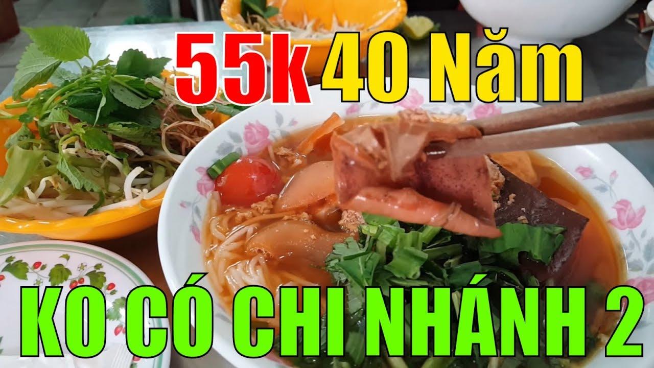 37k-55k / tô Bún riêu 40 NĂM 3 ĐỜI đường Nguyễn Cảnh Chân THƠM NỨC MŨI  |  Guide Saigon Food