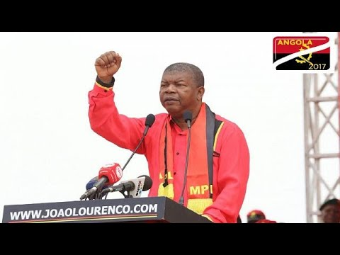 Angola's ruling party candidate says he won't 'share power' with dos Santos