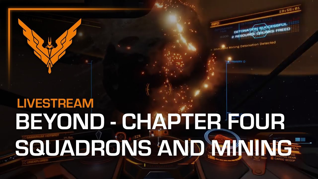 Elite Dangerous is getting a fleshed-out MMO guild system in Beyond