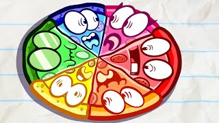 Pencilmation Pizza is the TASTIEST!   Animated Short Films   Pencilmation