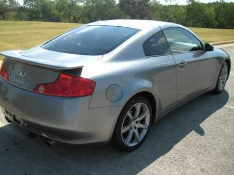 2004 Infiniti G35 Coupe Auto Sport Package With Navigation Grand