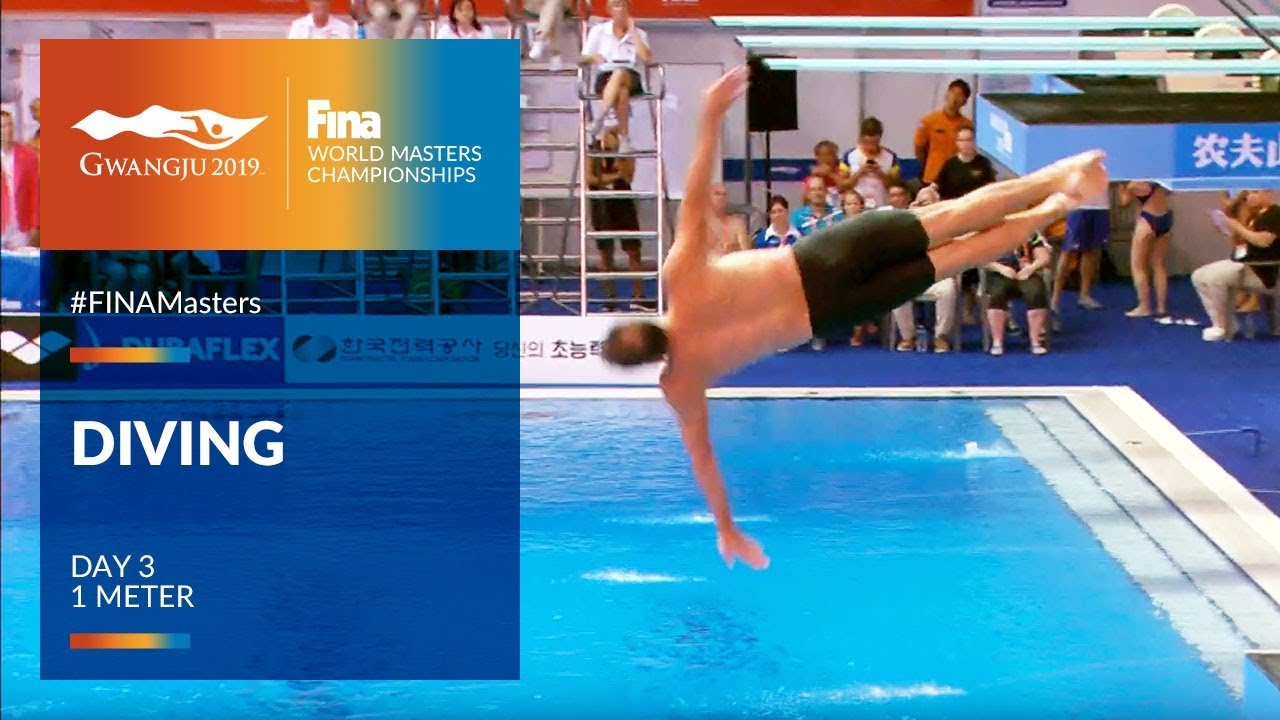 RE-LIVE   Diving Day 3   1m   FINA World Masters Championships 2019