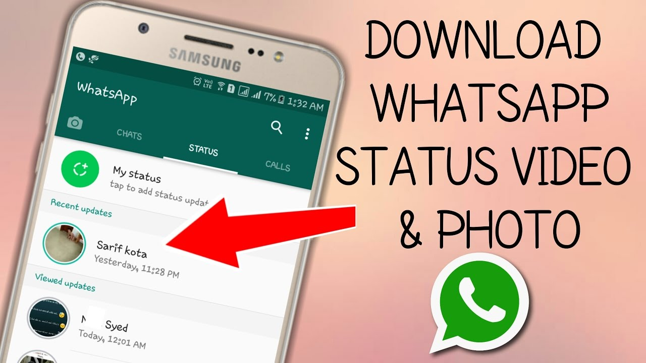 Whatsapp ki photo video download online