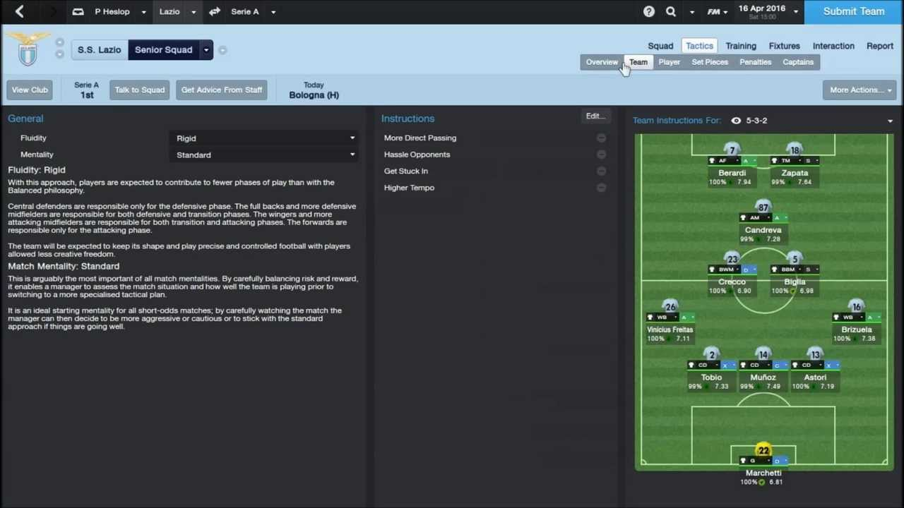 The Best Fm14 Tactic Youtube