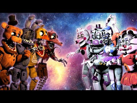 [SFM FNAF] Withered VS. Funtime