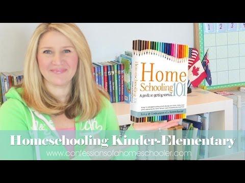 Tip Tuesday Homeschooling Kindergarten & Elementary
