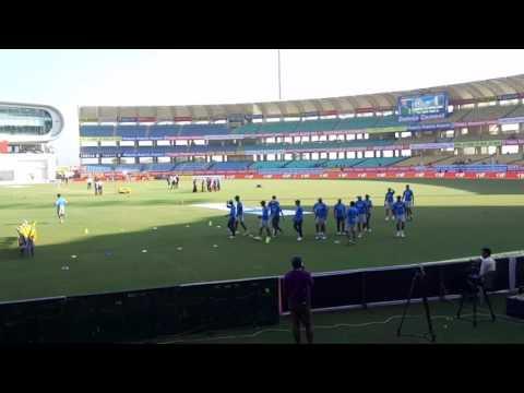 Rajkot test match