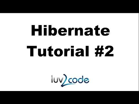 Hibernate Tutorial #2 - Hibernate and JDBC
