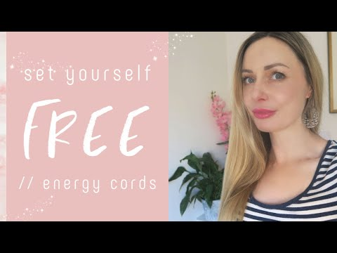Energetic Cords - How To Be Free / Safe Cord Cutting  (Holistic Relationship Series) Not Tarot