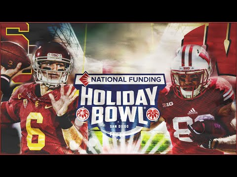 NCAA Football 16 | #23 Wisconsin vs USC | 2015 Holiday Bowl