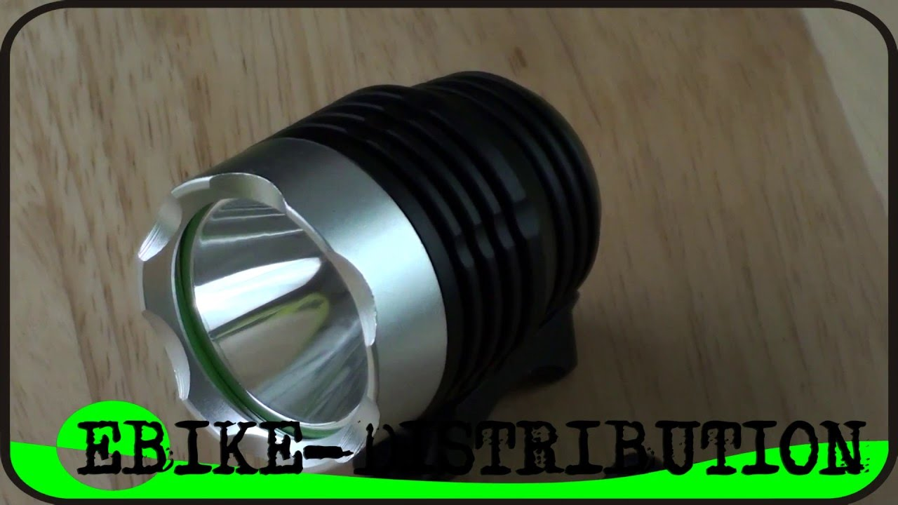 Lampe Led Rechargeable Pour Velo Et Tete Cree Xm L Xml T6 1800 Lumen