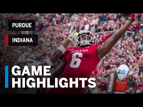 Highlights: Purdue Boilermakers at Indiana Hoosiers | Big Ten Football