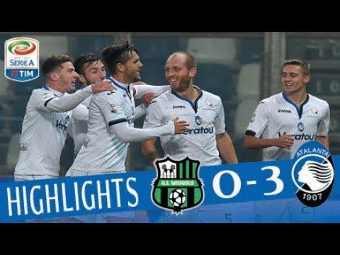 Sassuolo - Atalanta 0-3 - Highlights - Giornata 22 - Serie A TIM 2017/18