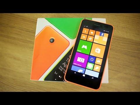 Nokia Lumia 635 unboxing