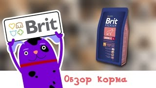 Обзор корма Brit Premium Junor L