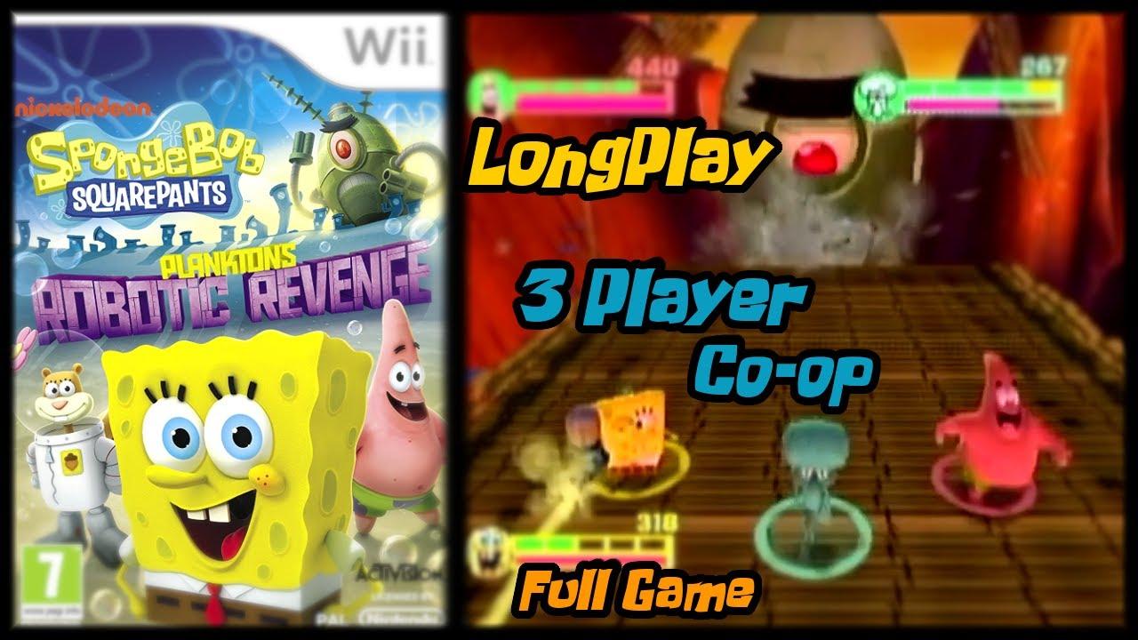Spongebob Squarepants Planktons Robotic Revenge Wii Longplay Youtube