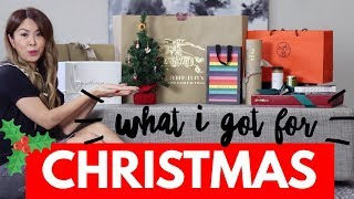 WHAT I GOT FOR CHRISTMAS 2017 - GUCCI, HERMES, BURBERRY & more