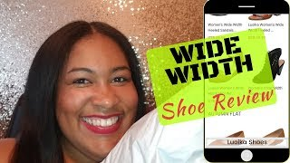 WIDE WIDTH SHOE REVIEW | Unboxing | LUOIKA | Plus Size Shoes!!