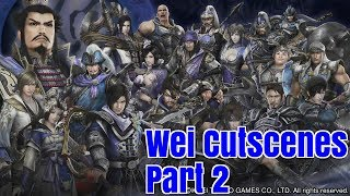 dynasty warriors 8 xl ce all wei cutscenes part 2 1080p ps4