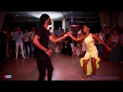 Lisi Con Victor - Show En Yekaterinburg - Salsa Timba Rumba Cubana