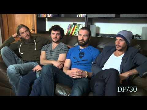 Vikings Interview - Travis Fimmel, George Blagden bromance