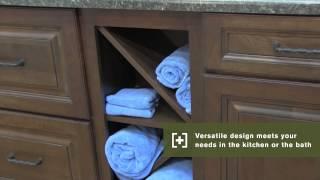 Schuler Cabinetry: Base Crossmate Wine Storage, Kitchen Storage Part 17