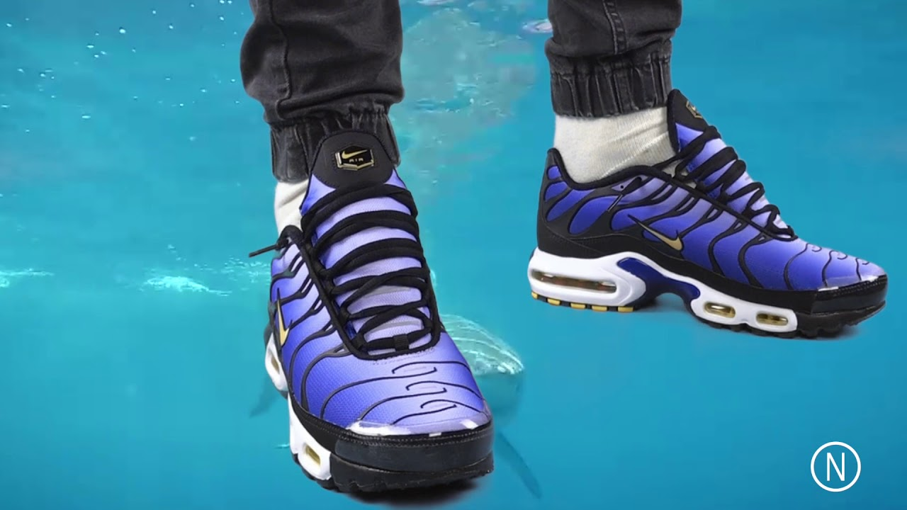 promo code 3bd6f 45881 Nike Air Max Plus TN Og Hyper Blue is back at NOIRFONCE