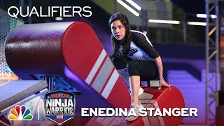 Enedina Stanger at the Minneapolis City Qualifiers - American Ninja Warrior 2018