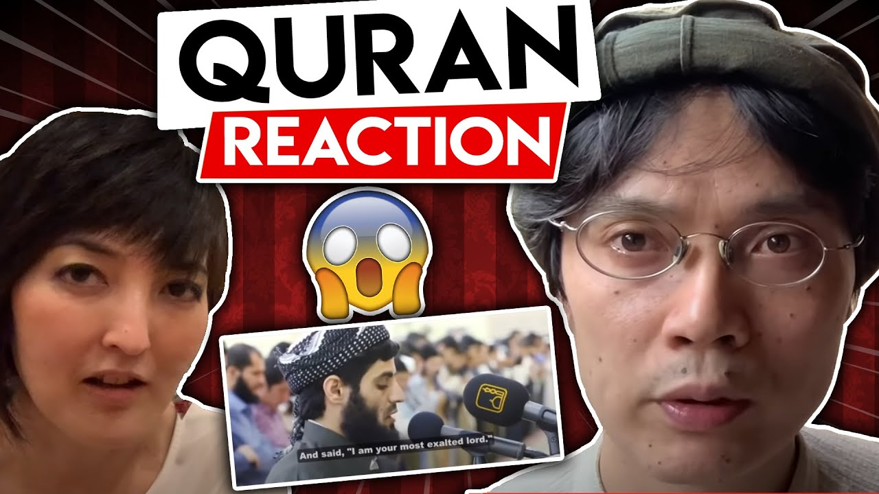 Download Non Muslim Japanese visit Mosque and react to Quran