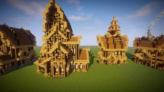 Medieval Houses (Schematics) (Download)