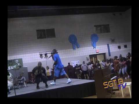 Sgt B - Swag Walk @ Liberty Eylau Middle School